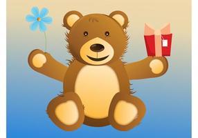 【熊卡通图】39套 Illustrator 小熊图案下载,熊插画推荐款