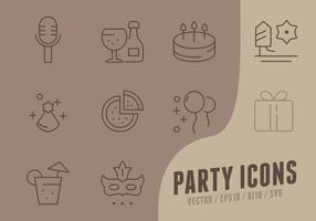 Happy Birthday Collection Icons