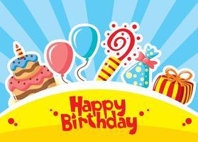Happy Birthday Vectors