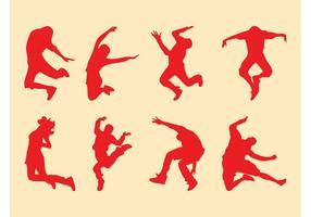 【人物剪影】60套 Illustrator 人卡通图下载,人图案推荐款