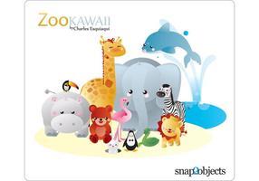 【长颈鹿卡通图】34套 Illustrator 长颈鹿Q版图下载,长颈鹿图案推荐款