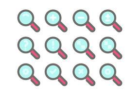 【放大镜图案】41套 Illustrator 放大镜图示下载,放大镜图档推荐款