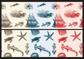 【布素材】70套illustrator 布素材免费下载