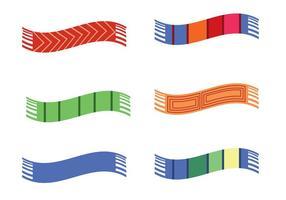 【围巾图案】20套Illustrator 围巾图案下载