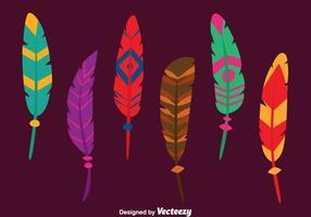 【羽毛素材】40套 Illustrator 羽毛图腾下载,羽毛图案推荐款