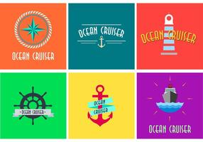 【海浪素材】60套 Illustrator 海浪图案下载,海浪图腾推荐款