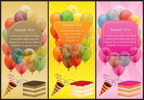 【卡片图案】90套可爱Illustration 生日卡片图案下载