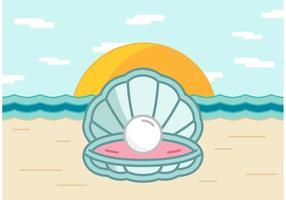 【贝壳图案】38套 Illustrator 贝壳卡通图下载,贝壳图片推荐款