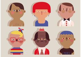 【人物素材】135套illustrator卡通人物图案下载,卡通人物素材首选