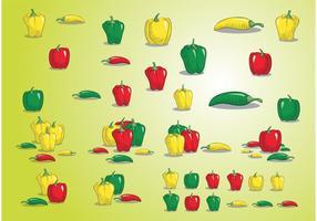【辣椒图案】32套 Illustrator 辣椒卡通图下载,辣椒图片推荐款