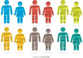 【男生符号图】40套 Illustrator 女生符号图下载,男女符号图推荐款