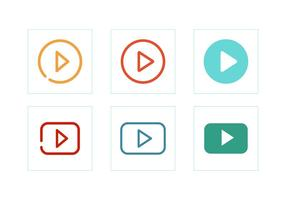 【播放符号】55套 Illustrator 播放按钮图下载,播放icon推荐款