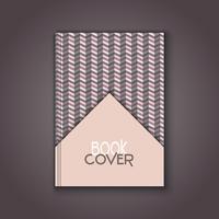 Retro book cover design