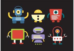 【机器人图案】38套 Illustrator 机器人q版图下载,机器人素材推荐款