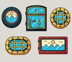 【窗帘图案】32套 Illustrator 窗帘素材下载,窗帘卡通图推荐款