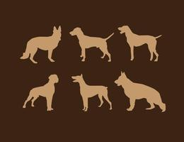 【小狗q 版图】56套 Illustrator 小狗图案下载,狗插画图推荐款