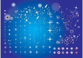 【星空背景图】100套 Illustrator 星空背景图素材,星空素材首选