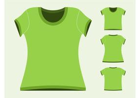 【T shirt AI档】73套 Illustrator T-shirt版型AI档下载,T恤模板推荐