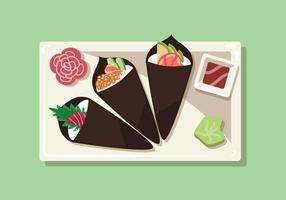 【寿司图片】36套 Illustrator 寿司卡通图下载,寿司图案推荐款