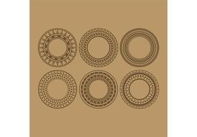 【图腾图案】68套 Illustrator 部落图腾设计图案下载