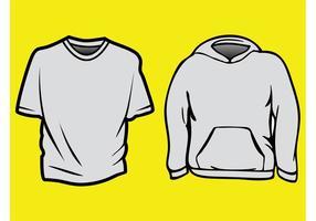 【帽T版型】 16套Illustrator 帽T版型AI下载, 帽T打版推荐款