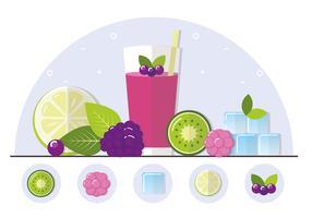 【果汁图片】31套 Illustrator 果汁图案下载,果汁素材推荐款