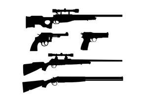 【枪图片】32套 Illustrator 枪素材下载,枪图案推荐款