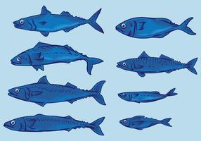 【小鱼图案】39套 Illustrator 小鱼 q版图下载,小鱼符号推荐款