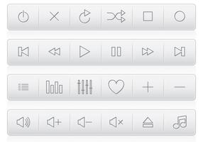 【按钮素材】101套 illustrator 按钮设计素材下载,按钮图片推荐