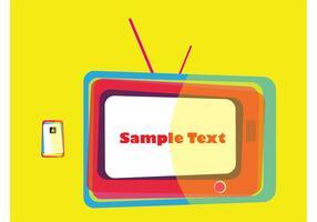【电视素材】32套 Illustrator 电视图案下载,电视插图推荐款