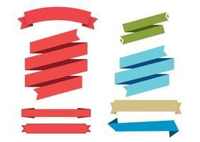 【缎带素材】72种Illustrator 缎带素材免费下载,缎带图案首选款