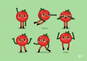 【番茄图片】42款 Illustrator AI番茄图案下载,番茄素材推荐款