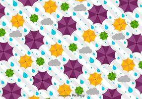 【雨伞图案】32套 Illustrator 雨伞符号下载,雨伞插画推荐款