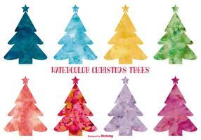 【圣诞树卡通图】40套 Illustrator 圣诞树手绘图下载,圣诞树插图推荐款