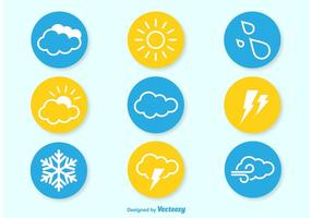 【天气符号】38套 Illustrator 天气图示下载,天气图案推荐款