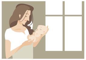 【妈妈卡通图】34套 Illustrator 妈妈图案下载,妈妈插图推荐款