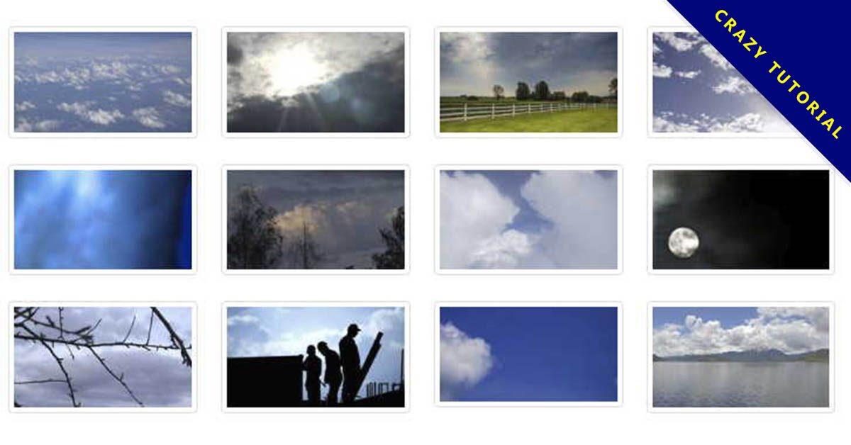【天空影片素材】完美的45款天空影片素材下載,天空動畫範例的AE格式