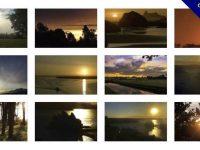 【日落影片素材】高品質的40款日落影片素材下載,夕陽背景模板的模板擋