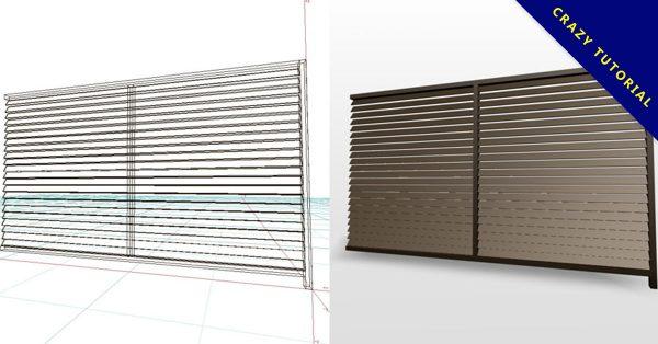 【柵欄模型】3DMAX精選14款柵欄模型下載,柵欄模塊免費推薦款