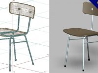 【椅子模型】3DMAX精選18款椅子模型下載,模型椅子免費推薦款