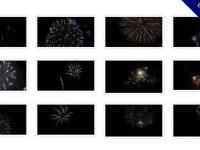 【煙火影片素材】很棒的38款煙火影片素材下載,煙火特效動畫的模板格式