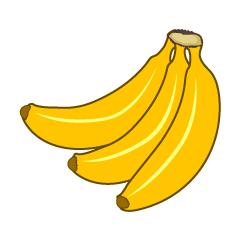 可愛いバナナキャラ
