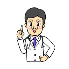 お医者さん似顔絵