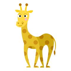 【长颈鹿卡通图】精选15款长颈鹿卡通图下载,长颈鹿图案免费推荐款