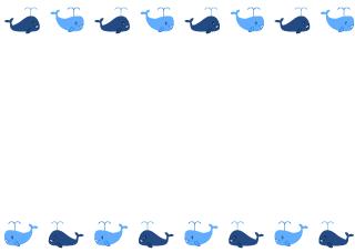 かわいいクジラ枠