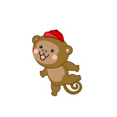 【猴子卡通】精选34款猴子卡通下载,猴子卡通图案免费推荐款