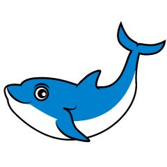 【海豚卡通】精选16款海豚卡通下载,海豚q版免费推荐款