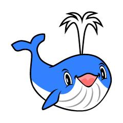 クジラのキャラクター