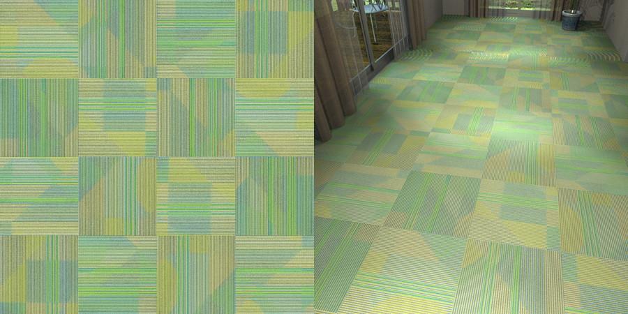 CAD,フリーデータ,2D,テクスチャー,texture,JPEG,タイルカーペット,tile,carpet,ストライプ,stripe,緑色,green,市松貼り,サンゲツ,カーペットタイル,sangetsu,DT3902
