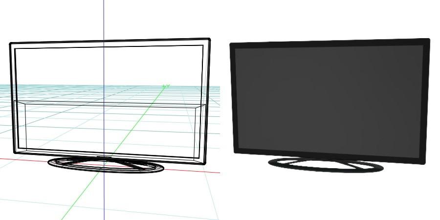 【电视模型】3DMAX精选11款电视模型下载,电视素材免费推荐款